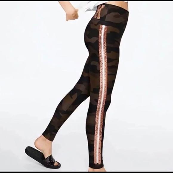 9db30bad93 Victoria Secret VS Pink Camo bling leggings M or L
